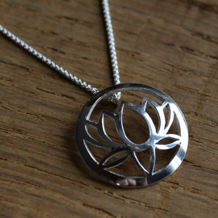 yoga jewellery by Sally Andrews