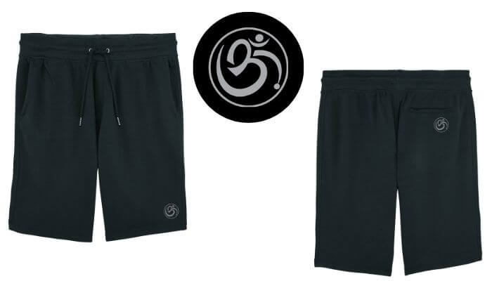 Born Peaceful | Anstey Yoga Shorts
