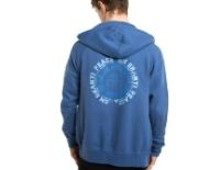 Om Shanti  Zip up Yoga Hoodie | Born Peaceful