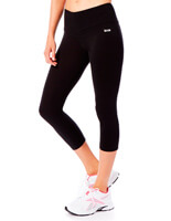 BAM | Bamboo Deep Waist  Three Quarter Leggings