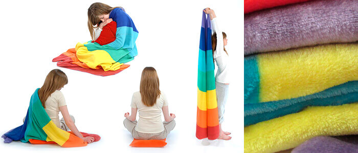Reflotherapies Chranket Blanket for Yoga | Relaxation | Meditation