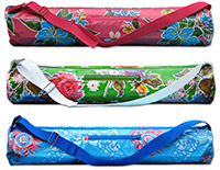 Bloom Yoga Mat Bag by Irish Flowers