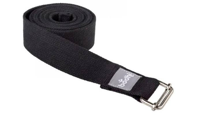 Asana Yoga Belt | Strap with Metal Sliding Buckle #2