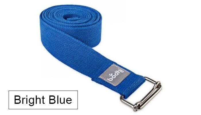 Asana Yoga Belt | Strap with Metal Sliding Buckle #11