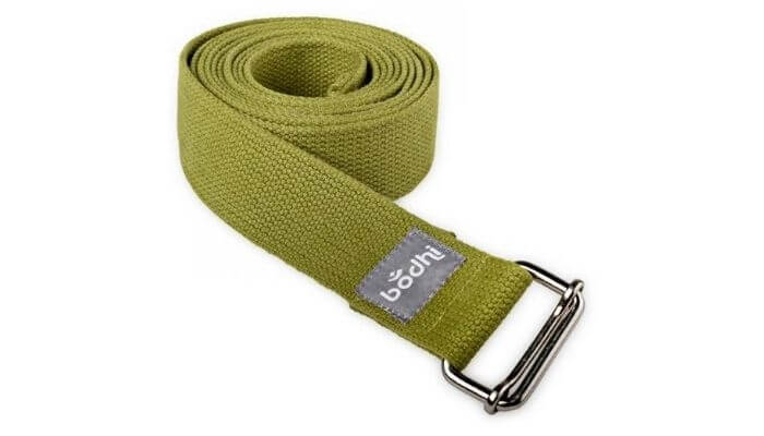 Asana Yoga Belt | Strap with Metal Sliding Buckle #4