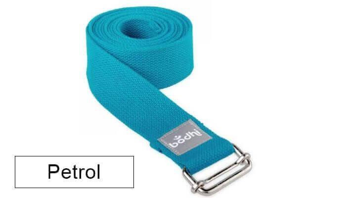 Asana Yoga Belt | Strap with Metal Sliding Buckle #9