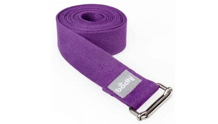 Asana Yoga Belt | Strap with Metal Sliding Buckle #8