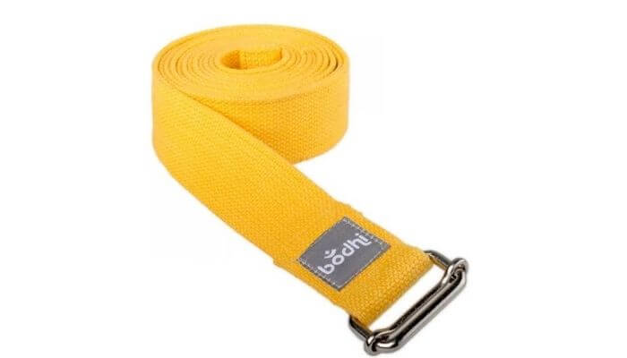 Asana Yoga Belt | Strap with Metal Sliding Buckle #5