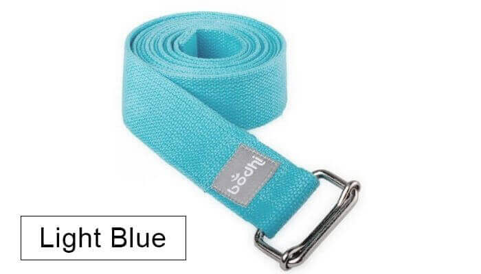 Asana Yoga Belt | Strap with Metal Sliding Buckle #10