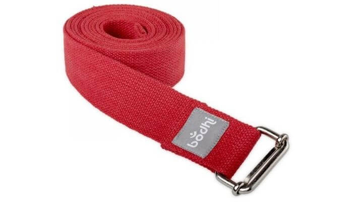 Asana Yoga Belt | Strap with Metal Sliding Buckle #6