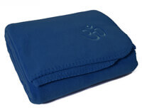 Asana Yoga and Relaxation Blanket | Blue