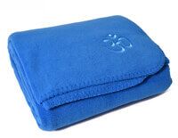 Asana Yoga & Relaxation Blanket | Blue