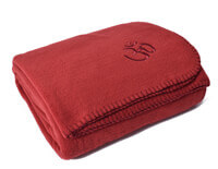 Asana Yoga & Relaxation Blanket | Bordeaux Red