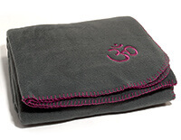 Asana Yoga & Relaxation Blanket in Dark Grey