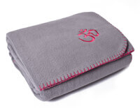 Asana Yoga & Relaxation Blanket in Cool Grey