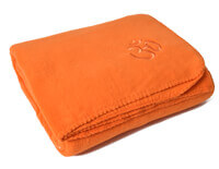 Asana Yoga and Relaxation Blanket | Orange