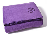 Asana Yoga and Relaxation Blanket | Purple