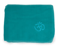 Asana Yoga and Relaxation Blanket | Vibrant Turquoise