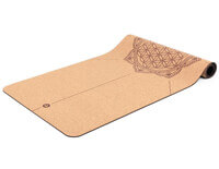 Cork Yoga Mat | Flower of Life