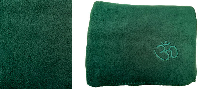 Asana Yoga and Relaxation Blanket | Fresh Apple Green