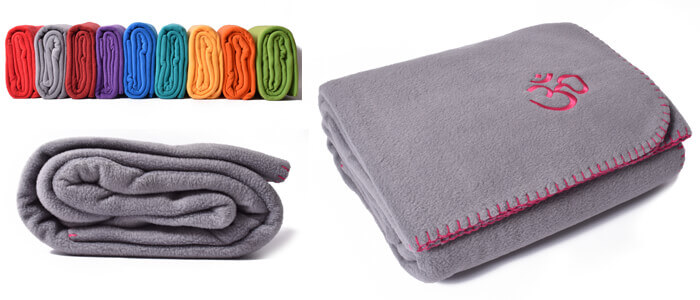 Asana Yoga and Relaxation Blanket | Cool Grey