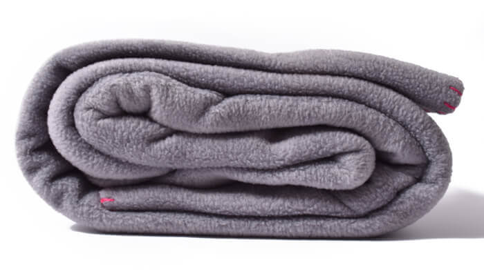 Asana Yoga and Relaxation Blanket | Cool Grey #4
