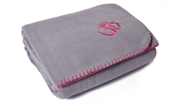 Asana Yoga and Relaxation Blanket | Cool Grey #5