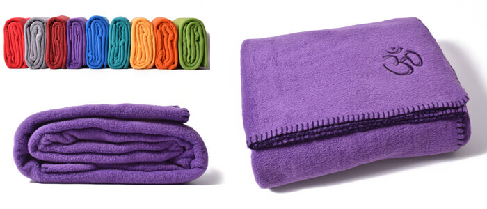 Asana Yoga & Relaxation Blanket | Purple