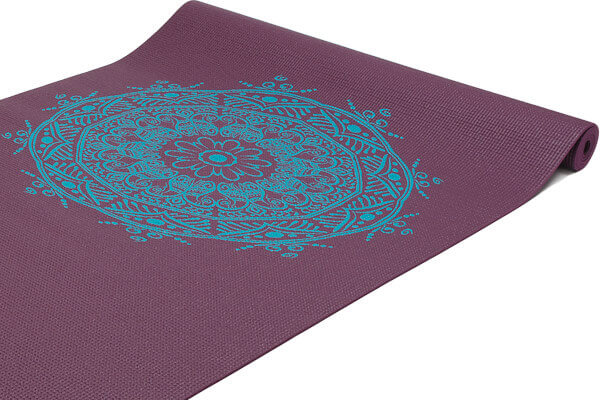 Yoga Mat Sticky Yoga Mat Leela Range Mandala Design