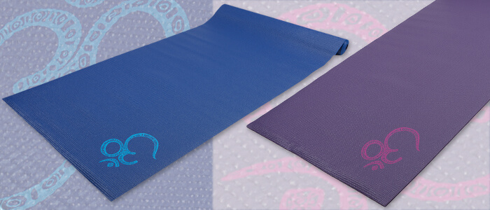 Asana Sticky Yoga Mats | Leela Range | OM | Box of 10
