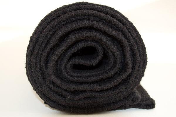Woven Yoga Rug And Mat Shiva Trident Design Yoga Bliss
