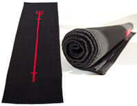 Shiva Trident Mat | Cotton Yoga or Mat
