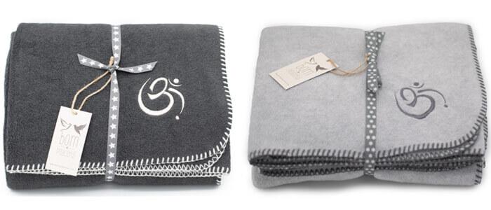 Born Peaceful Om Blanket