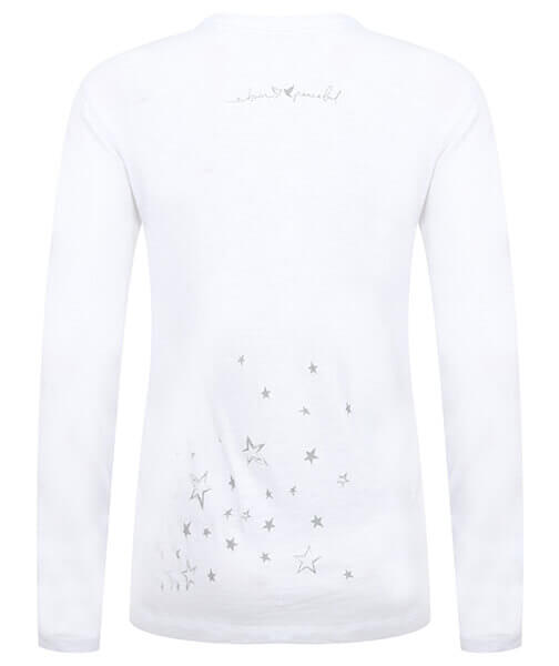 Long Sleeve Organic Slub Stardust Top by Born Peaceful #3