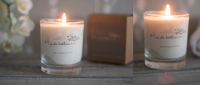 Hand Poured Candle | Meditation