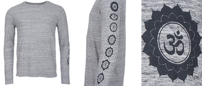 Chakra Organic Long Sleeve Top