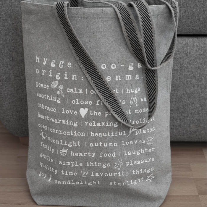 Born Peaceful Hygge Tote Bag #5