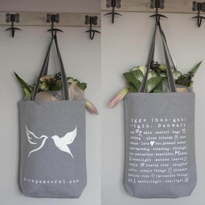 Born Peaceful Hygge Tote Bag #6
