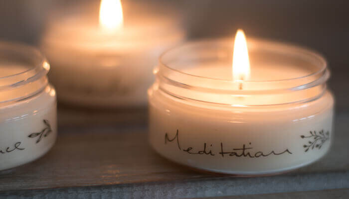 Candles Natural Meditation Travel Candle Born Peaceful