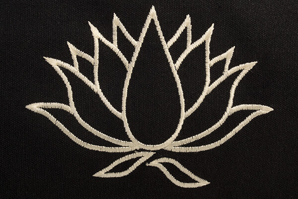 Yoga mat bag lotus flower born peaceful yoga bliss mightylinksfo