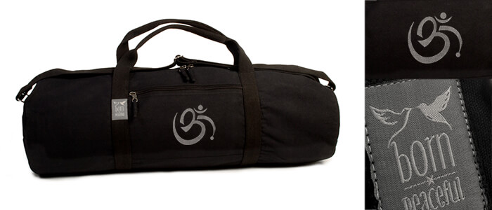 Born Peaceful Om Yoga Mat Bag | Hold All