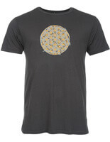 Bamboo Jersey Yoga T Shirt for men | Flower Of Life