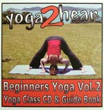 yoga2hear Instructional CD | Beginners Yoga Volume 2