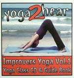 yoga2hear Instructional CD | Improvers Yoga Volume 1