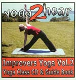 yoga2hear Instructional CD | Improvers Yoga Volume 2