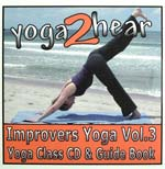 yoga2hear Instructional CD | Improvers Yoga Volume 3