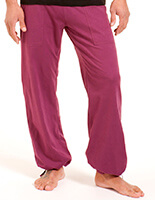 Men's Yoga Pants in Grape - Choclo Project