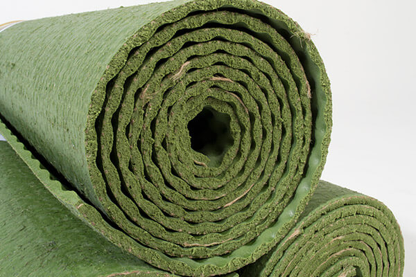 Ecoyoga Yoga Mat Fern Green Eco Friendly Yoga Bliss