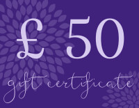 Yoga Bliss Gift Certificates Tokens and Vouchers | £50
