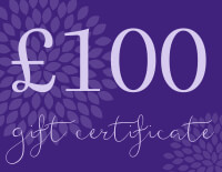 Yoga Bliss Gift Certificates Tokens and Vouchers | £100